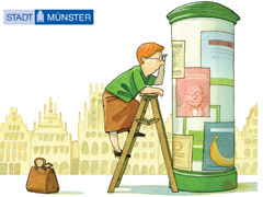 Bild: Handbuch Gut gestaltet - gut zu lesen. Bildquelle: Stadt Münster